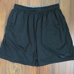 Men's Nike Dri Fit Shorts in Black XL